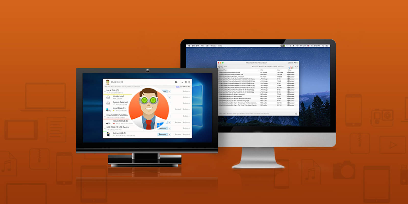 This suite of disk utility tools can recover lost data and maintain a healthy drive on almost any device.