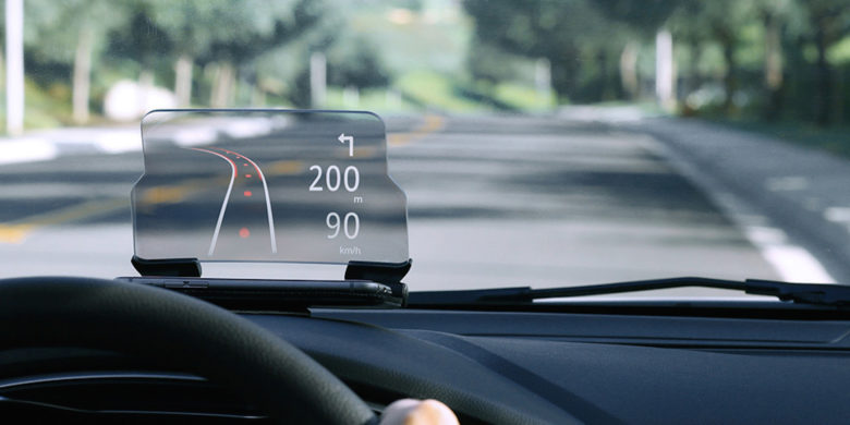 This heads up display for your car is as useful as it is futuristic.