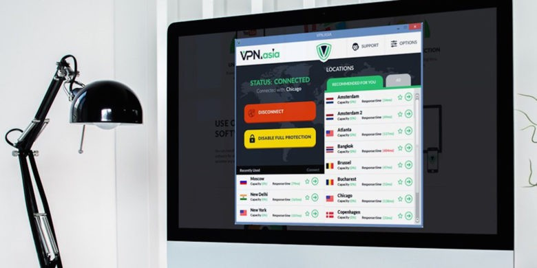 Protect and anonymize your online activity with this easy to use VPN.