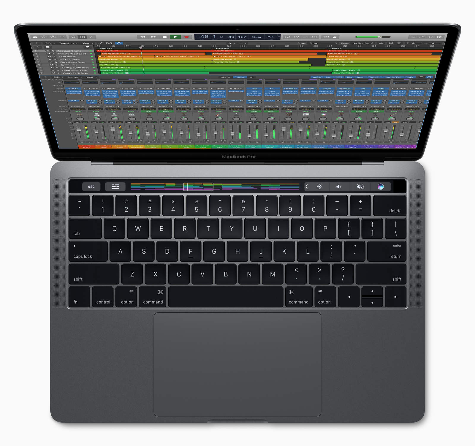 macbook pro logic pro x