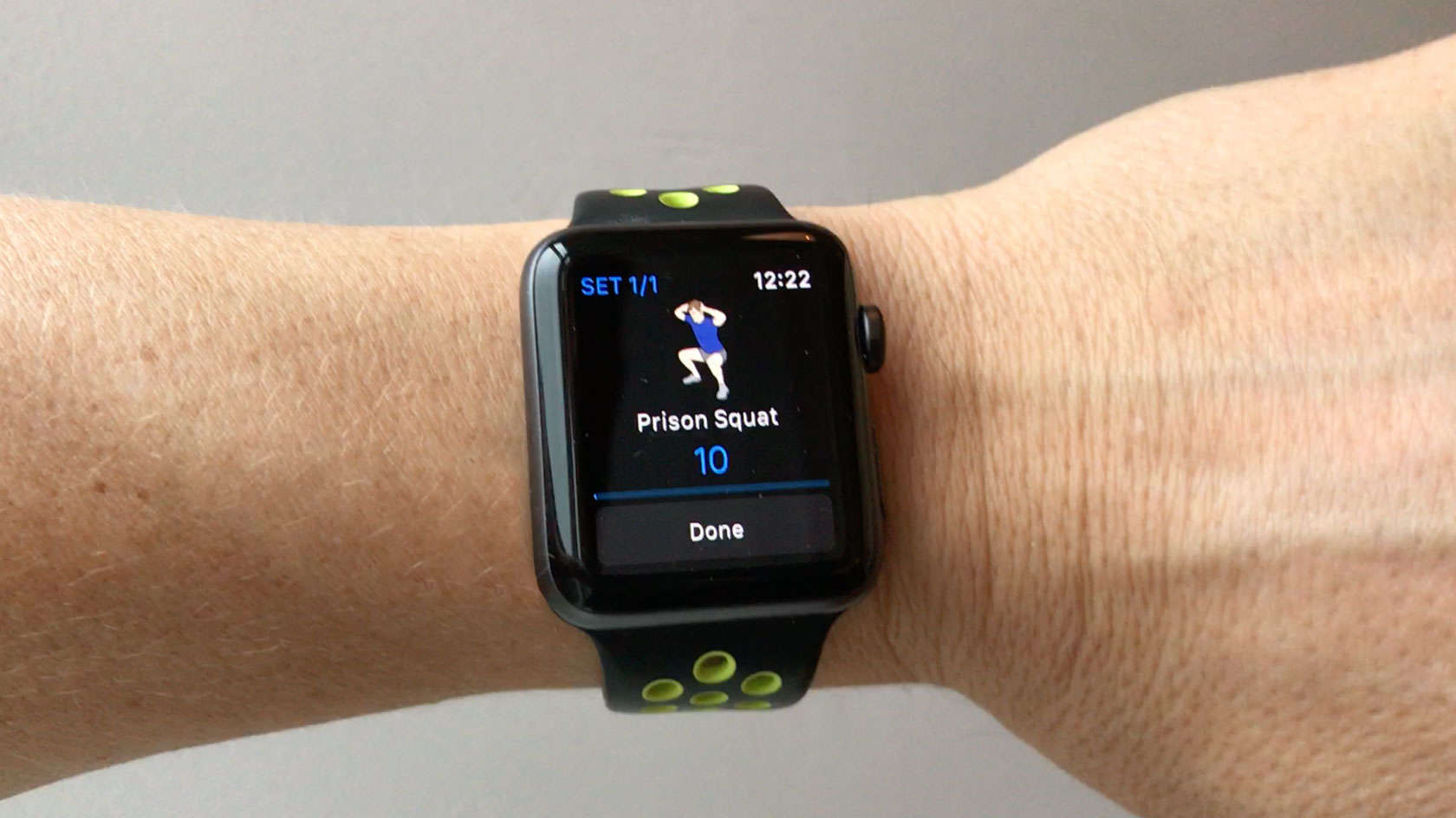Log the CultFit workout with your Apple Watch