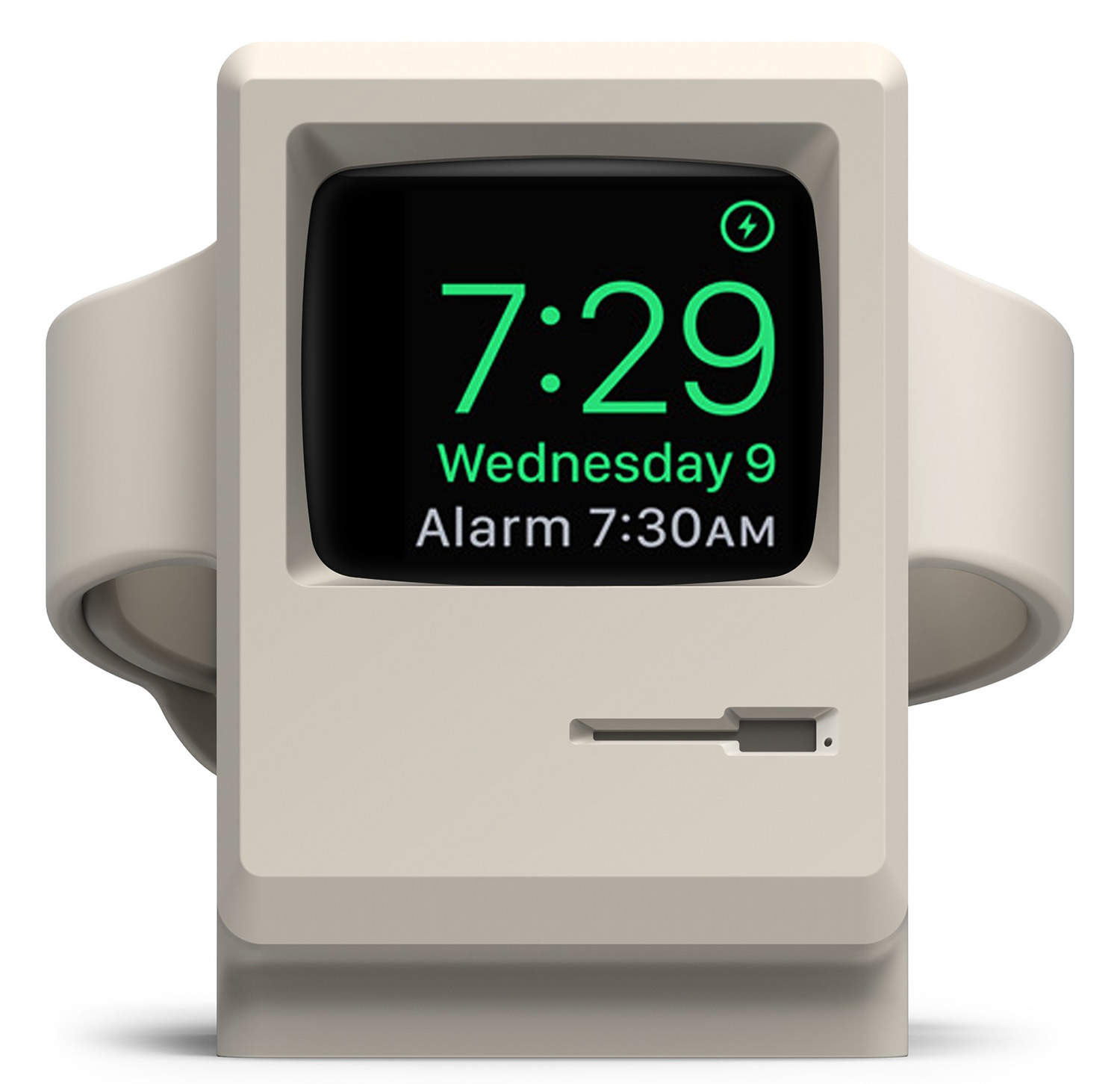 This stand from elago will charge your Apple Watch in a time warp.
