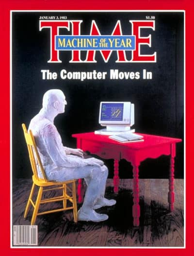 Steve Jobs admitted to crying when he saw this Time magazine cover