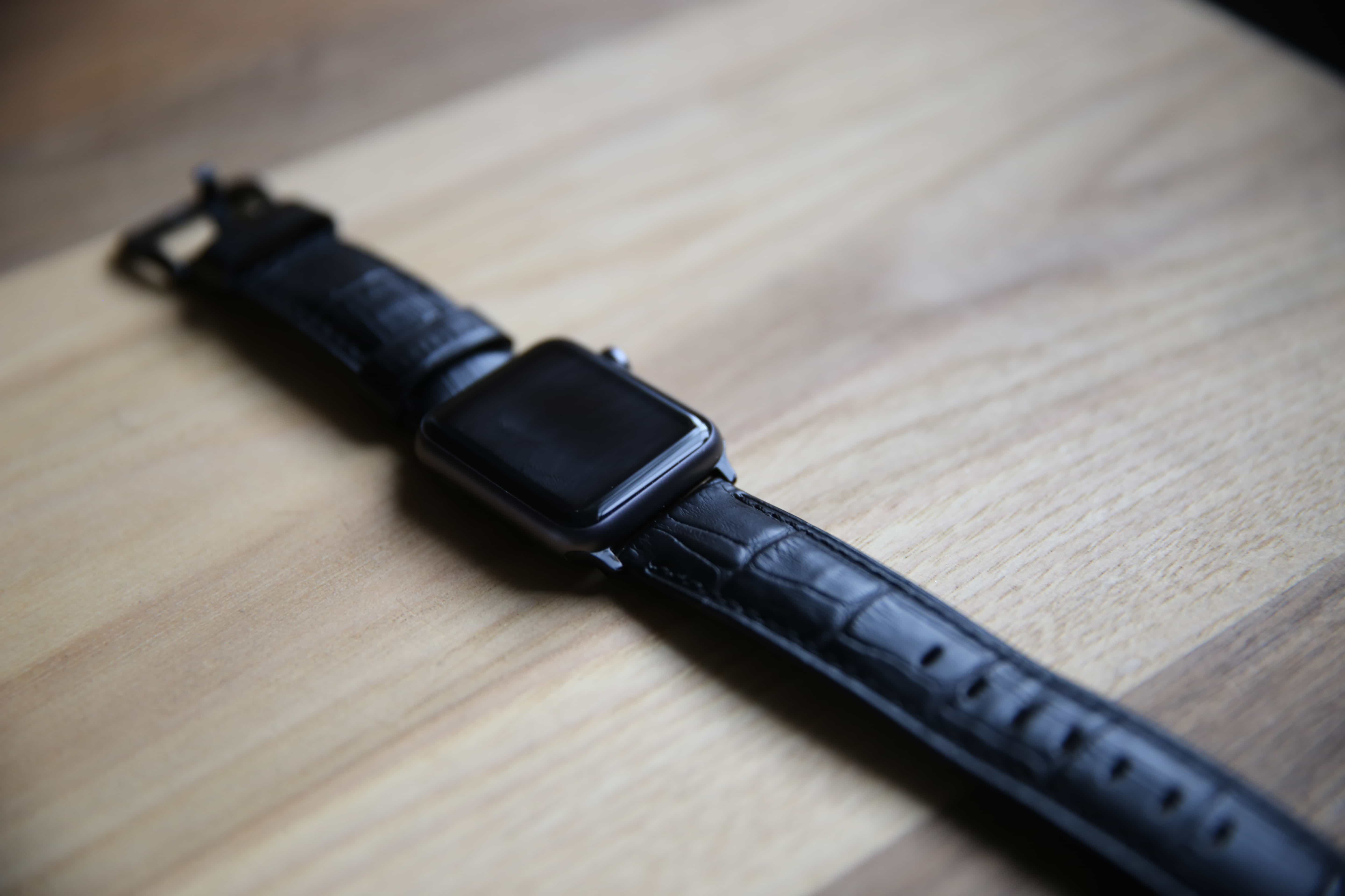 Strapple Crocodilus Apple Watch strap