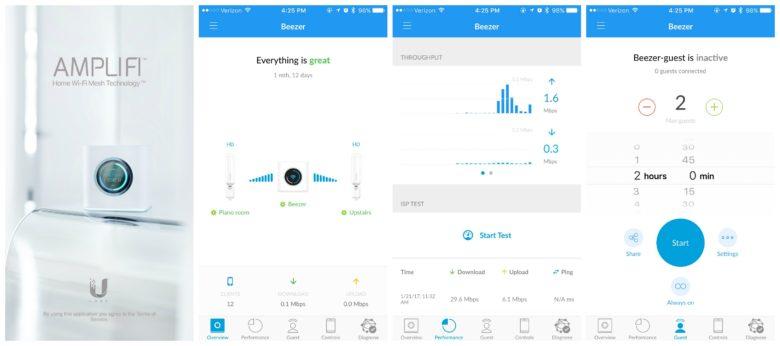AmpliFi HD app