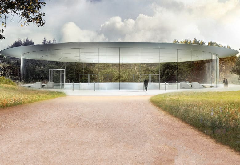 Apple Park's Steve Jobs Theater is going to be stunning