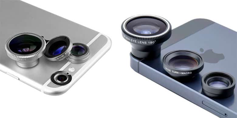 CoM - Acesori 5 Piece Smartphone Camera Lens Kit