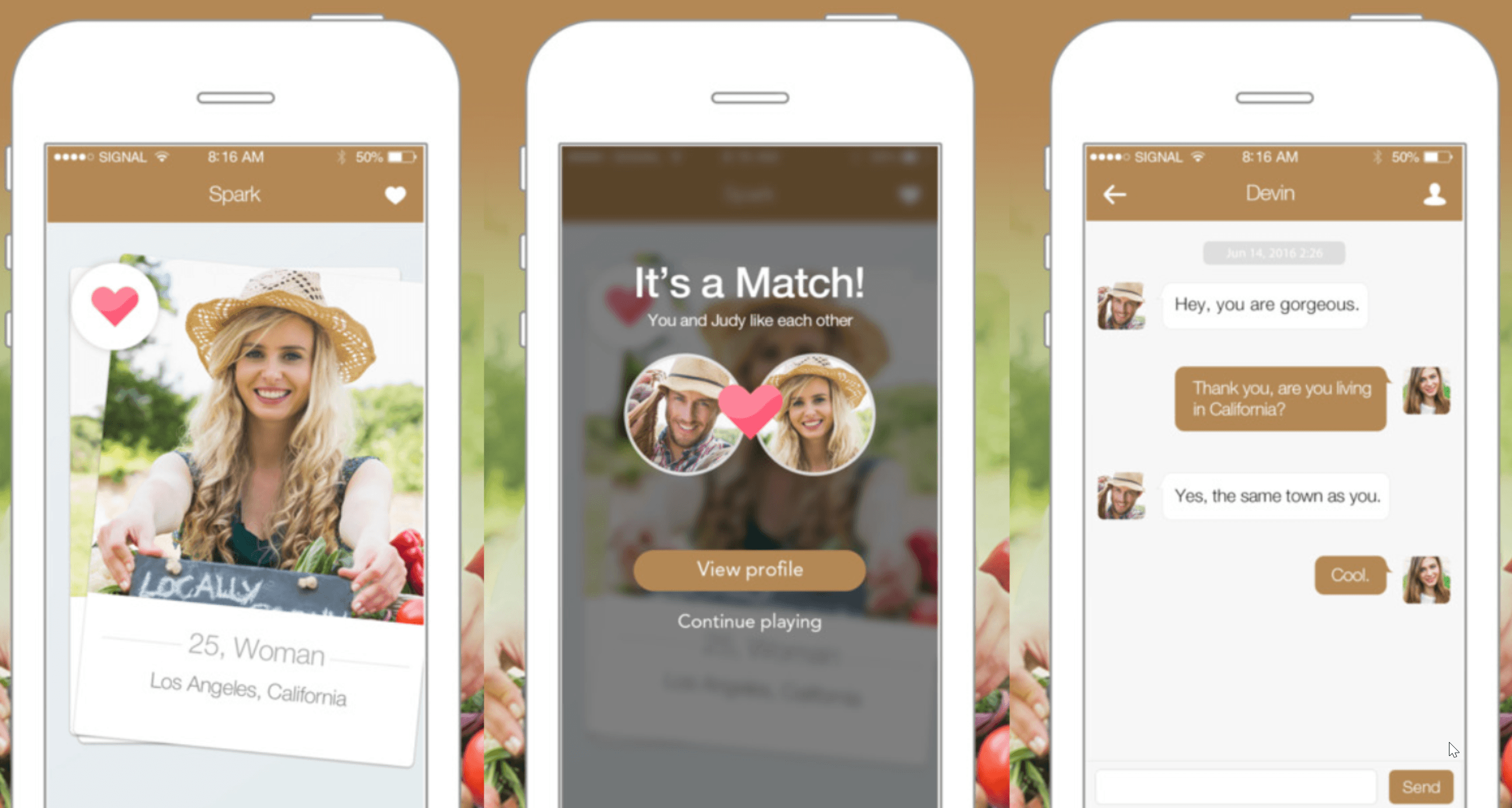 matchmaking apps iPhone
