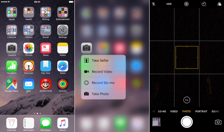 3D Touch Photo
