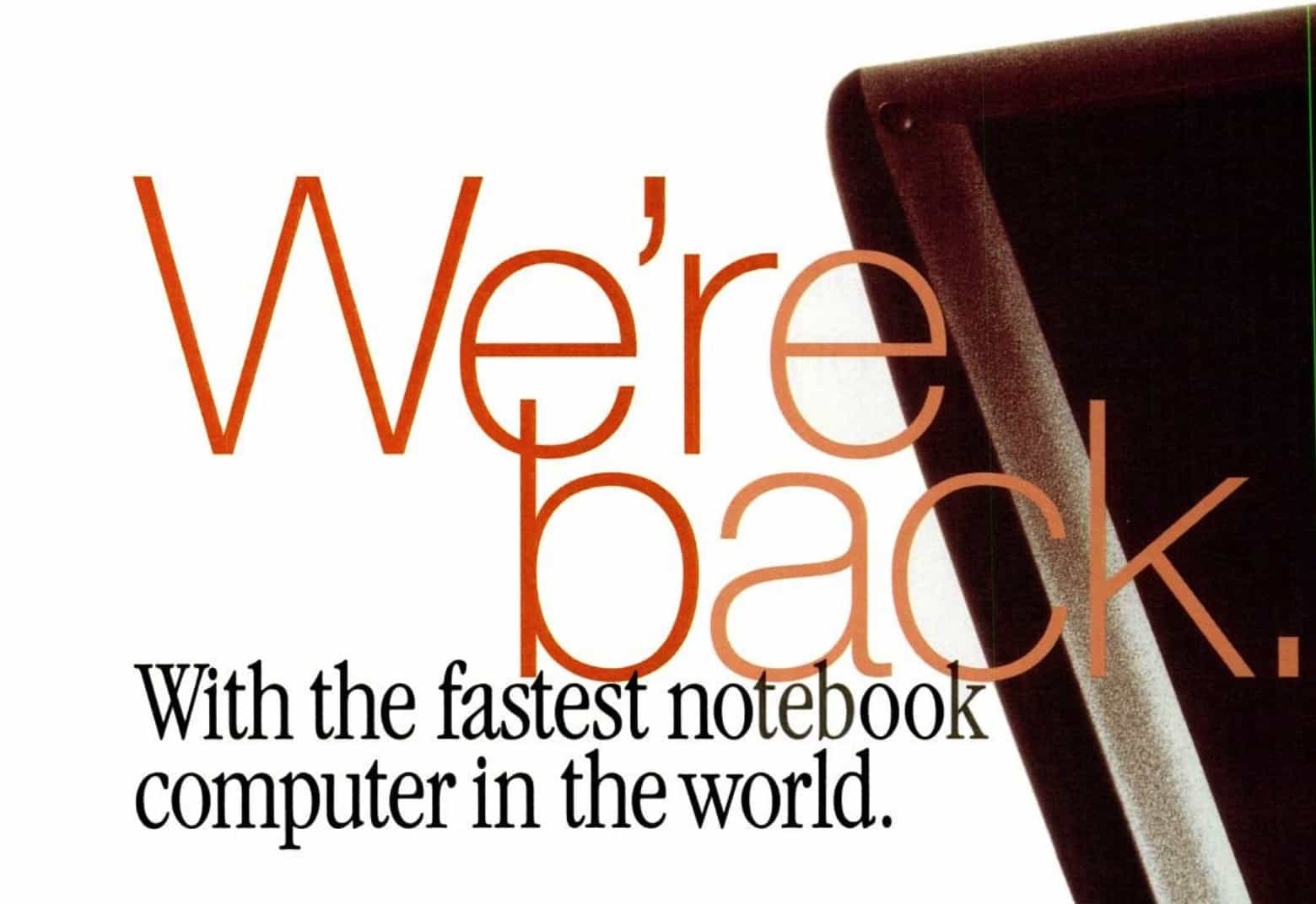 The PowerBook 3400 certainly lived up to its name.