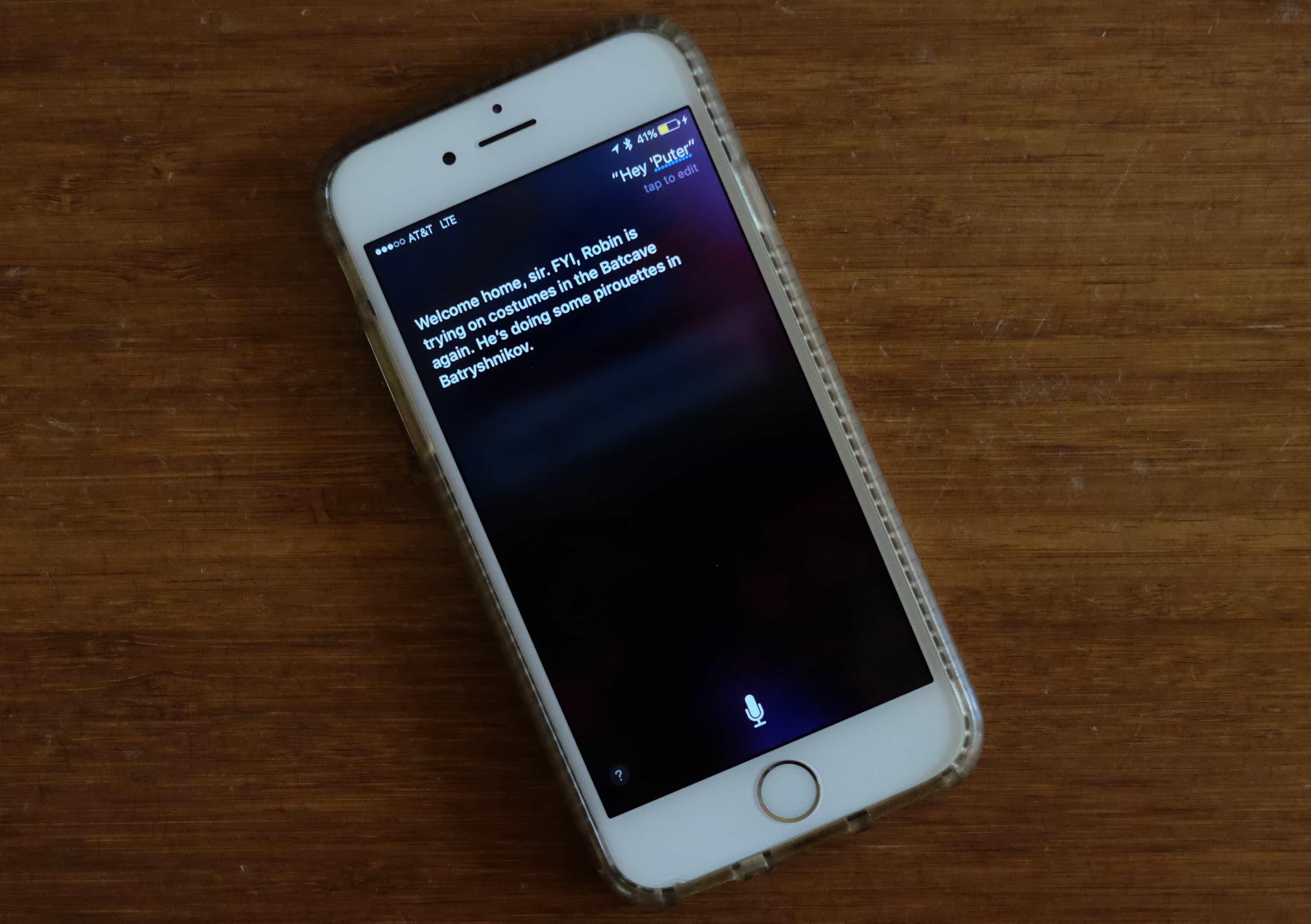 Call Siri