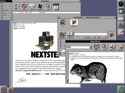 NeXTSTEP was ahead of its time when NeXT quit making computers.