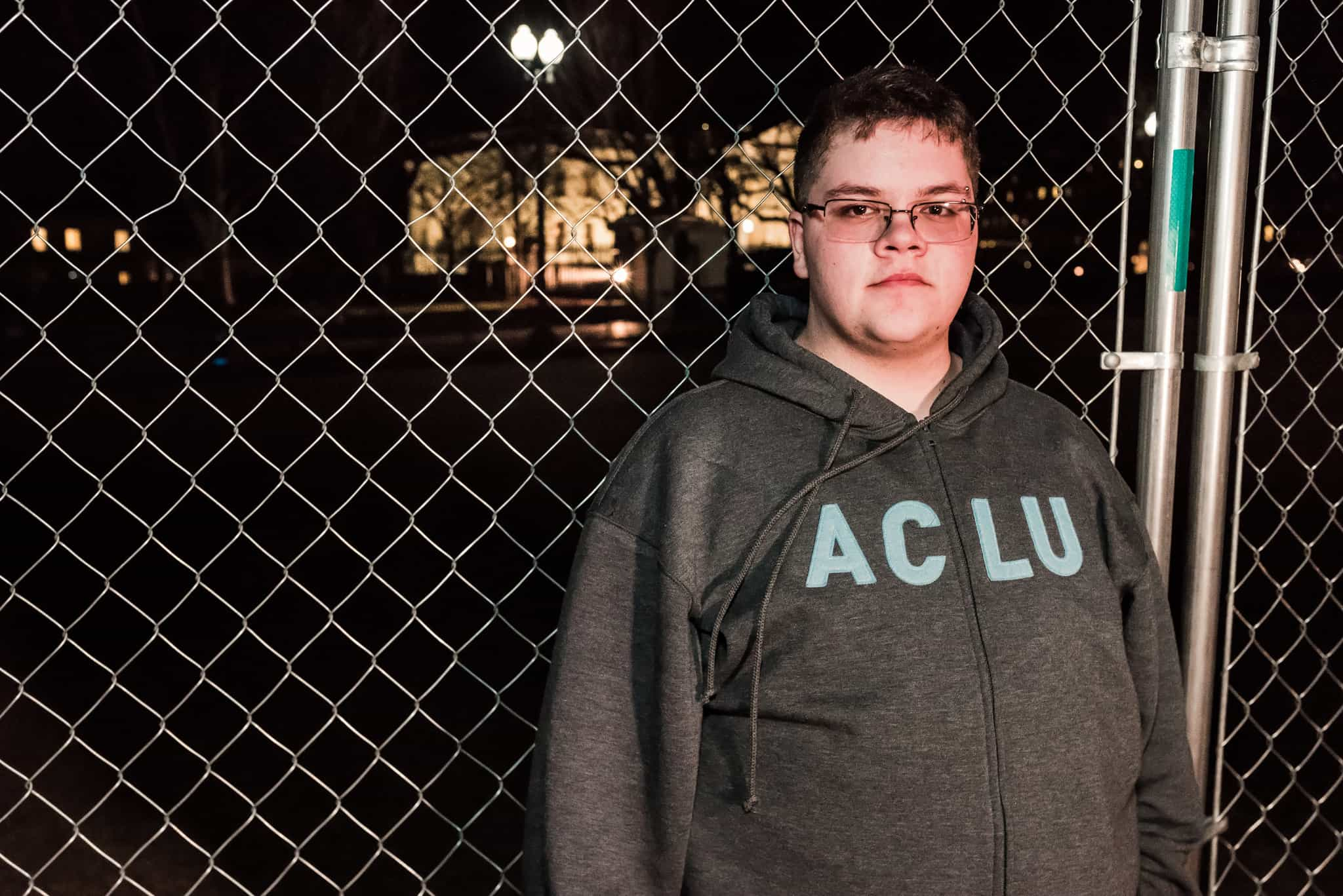 Supreme Court plaintiff and LGBT rights advocate Gavin Grimm.