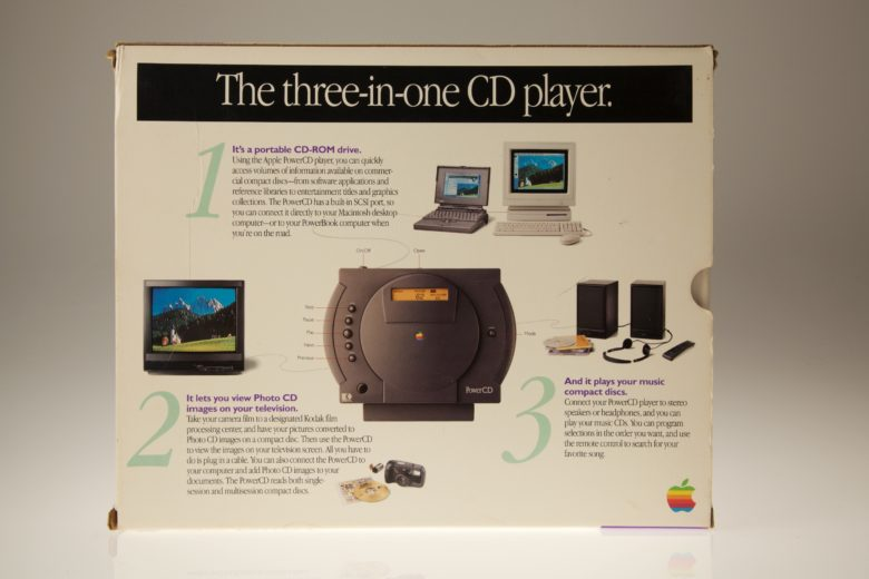 Apple PowerCD was a pretty neat product, despite its lack of success.
