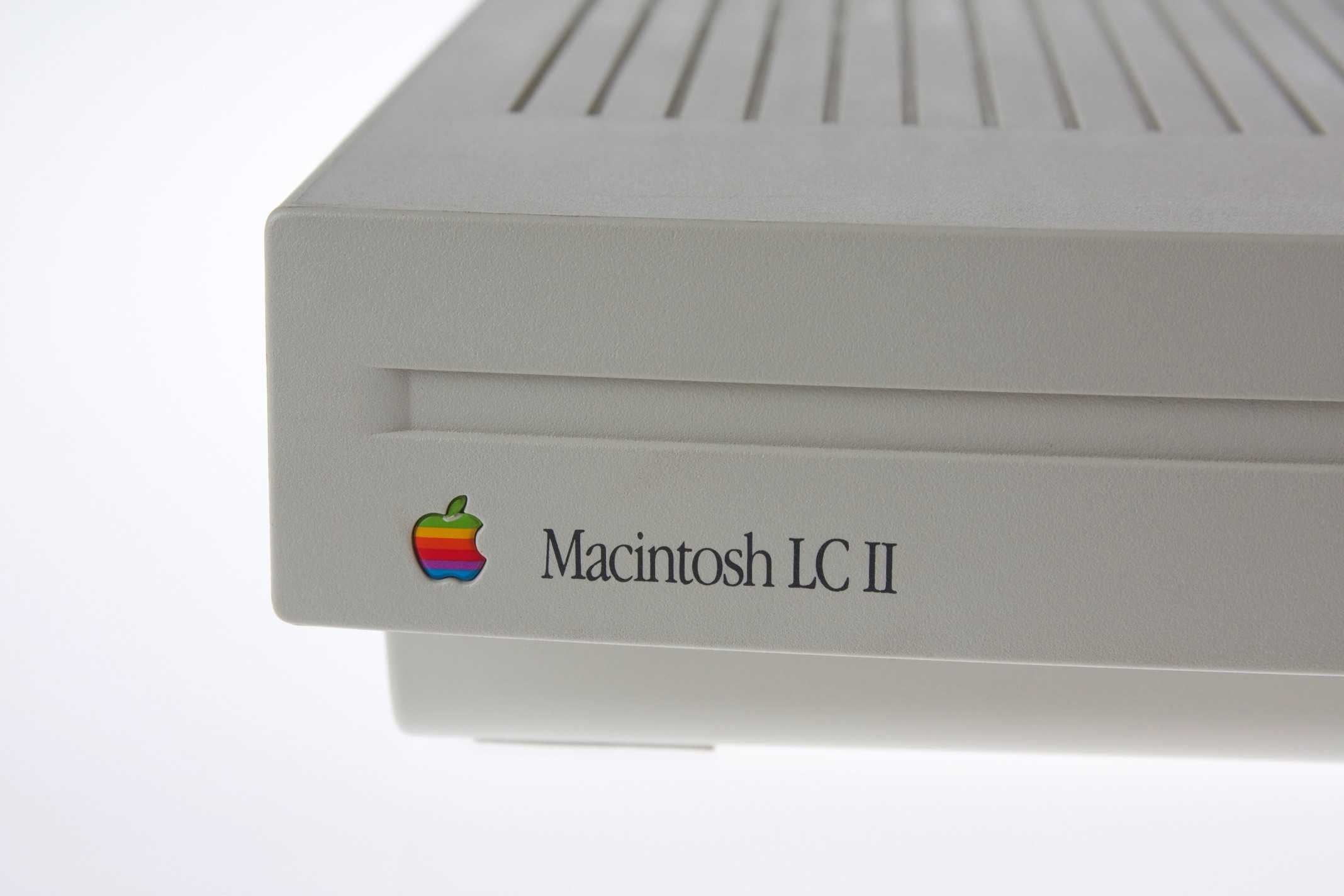 The Macintosh LC II was more powerful and cheaper than its predecessor.