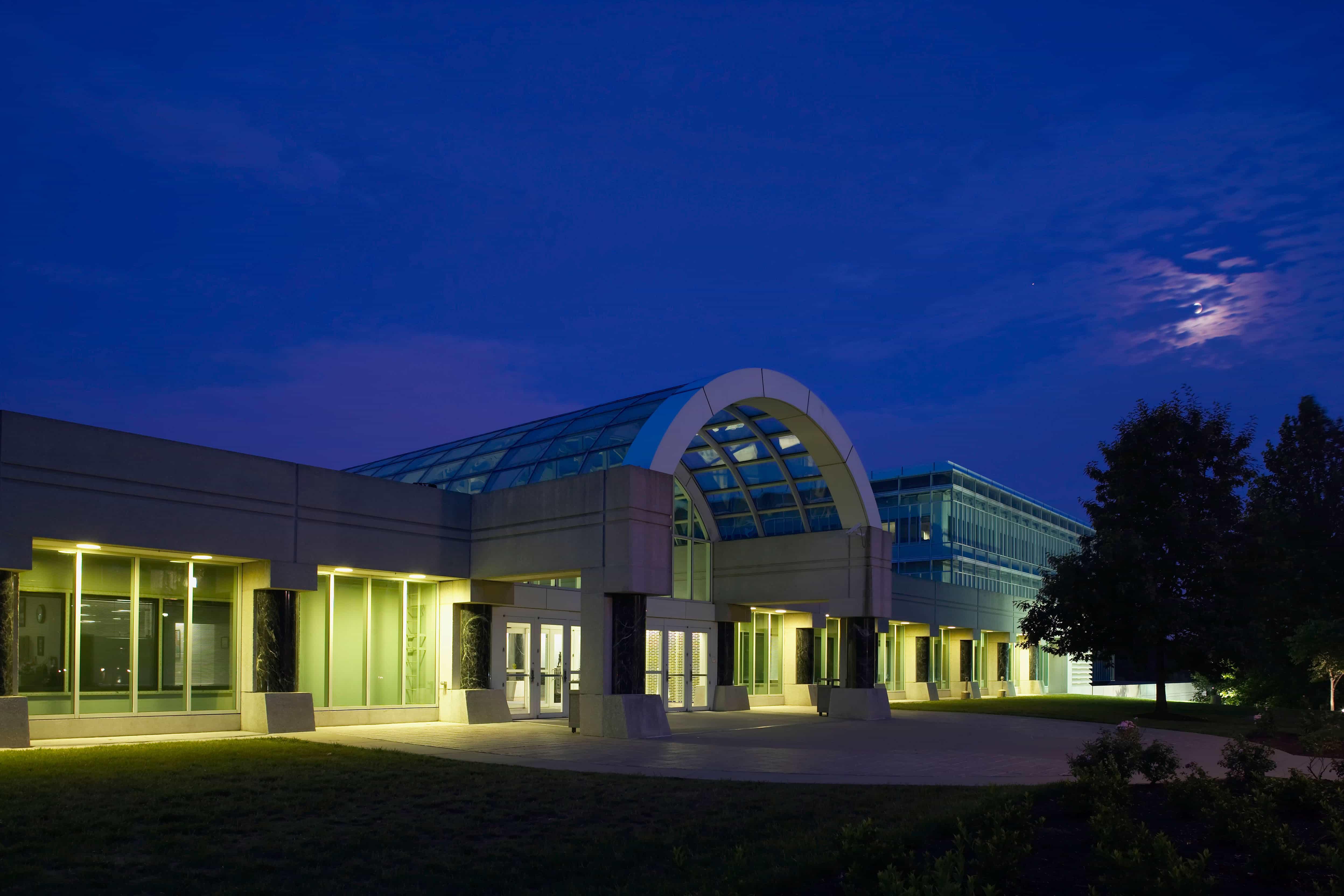 The CIA's new headquarters.