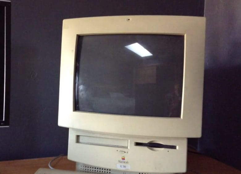 The Macintosh LC 580 blew away PCs when it came to multimedia performance.