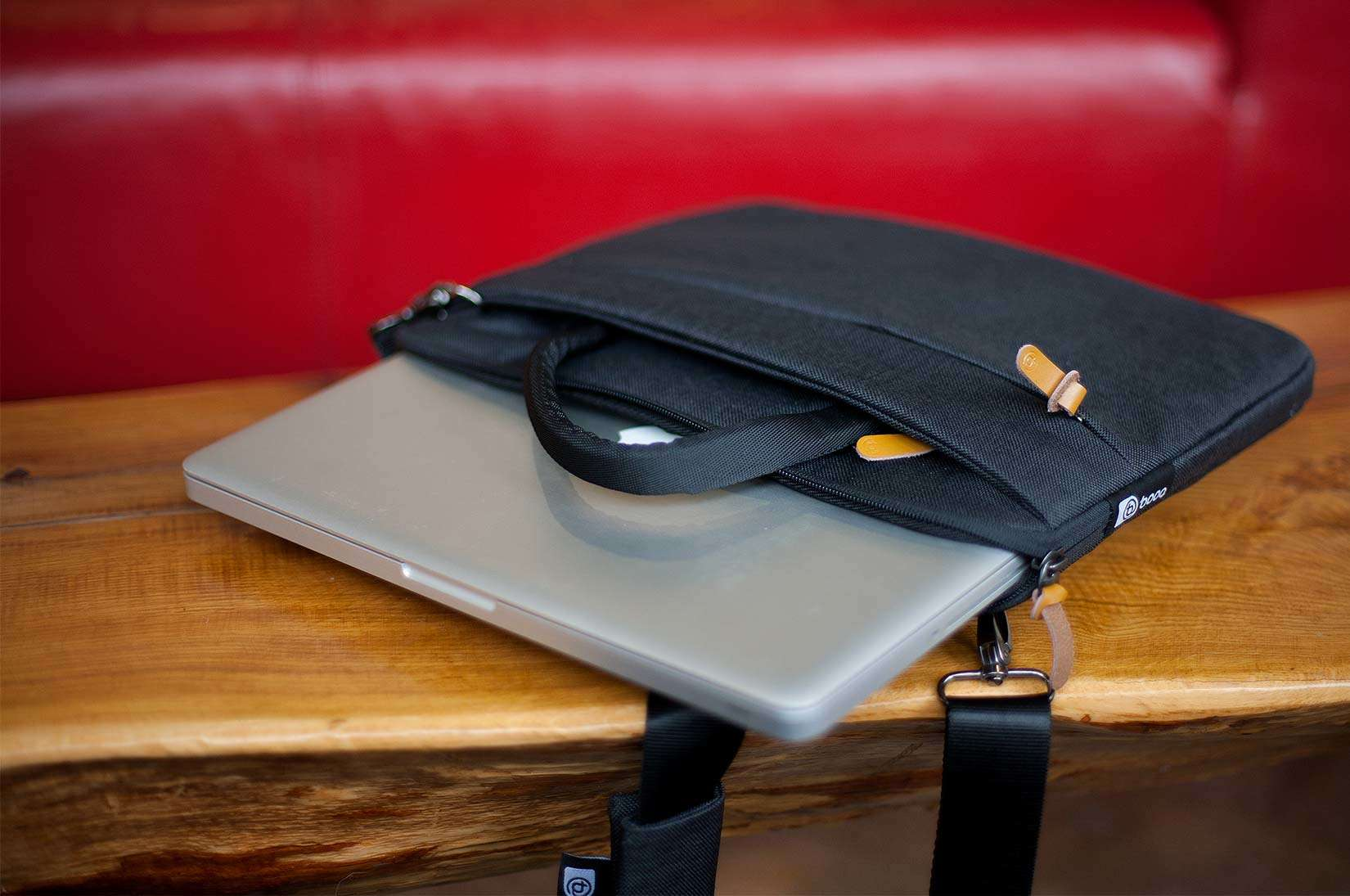 Slim is in the name, but the limit of what this bag by booq carries is deceptively generous.