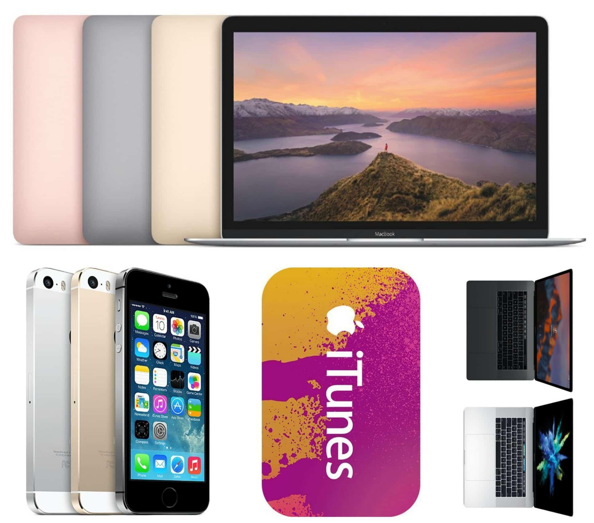Apple deals on MacBook, iPhone 5s, MacBook Pro, iTunes Gift Cardsåç