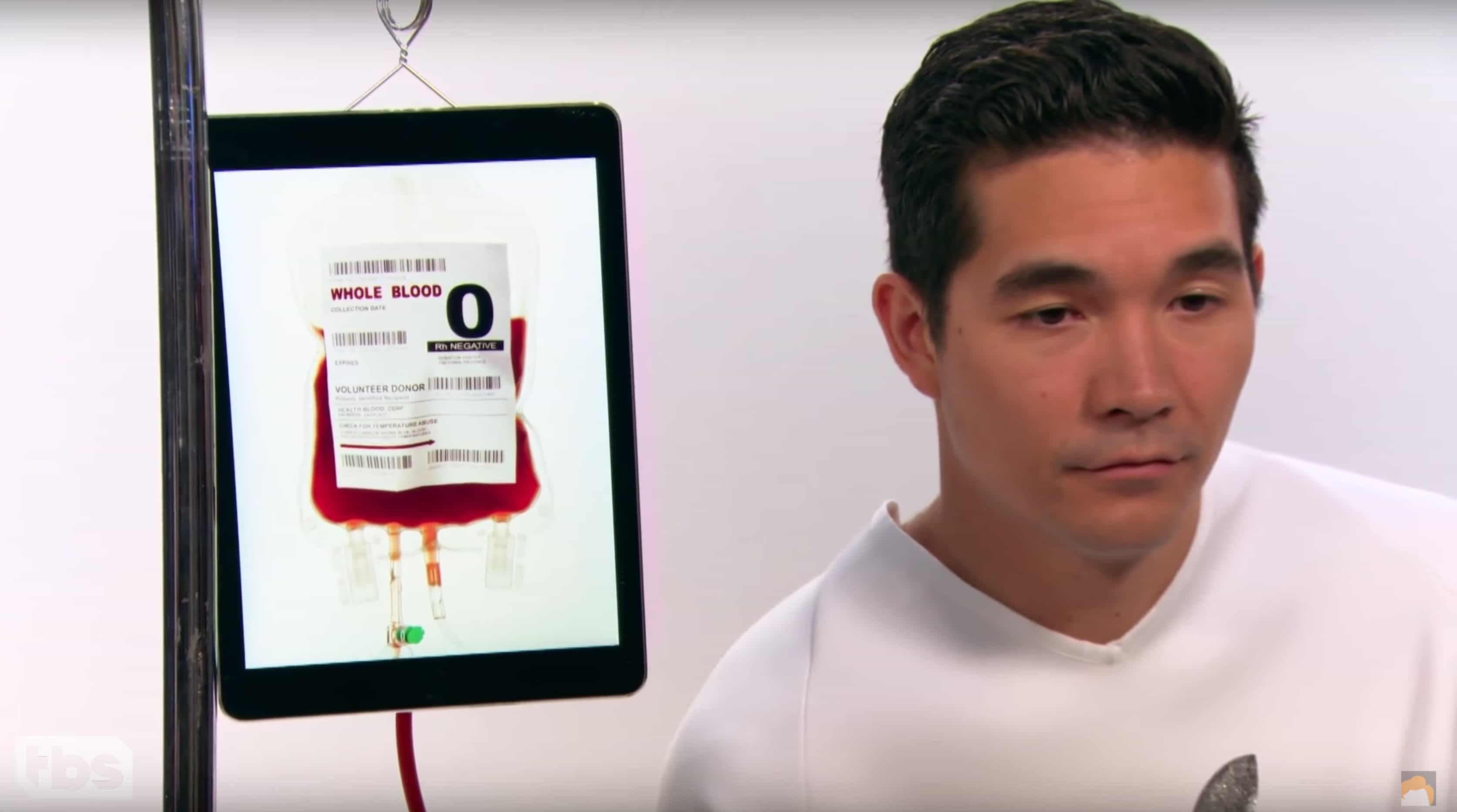 Blood transfusions from an iPad?