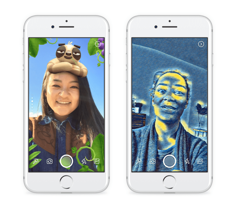 Facebook 'borrows' from Snapchat for latest iOS app update