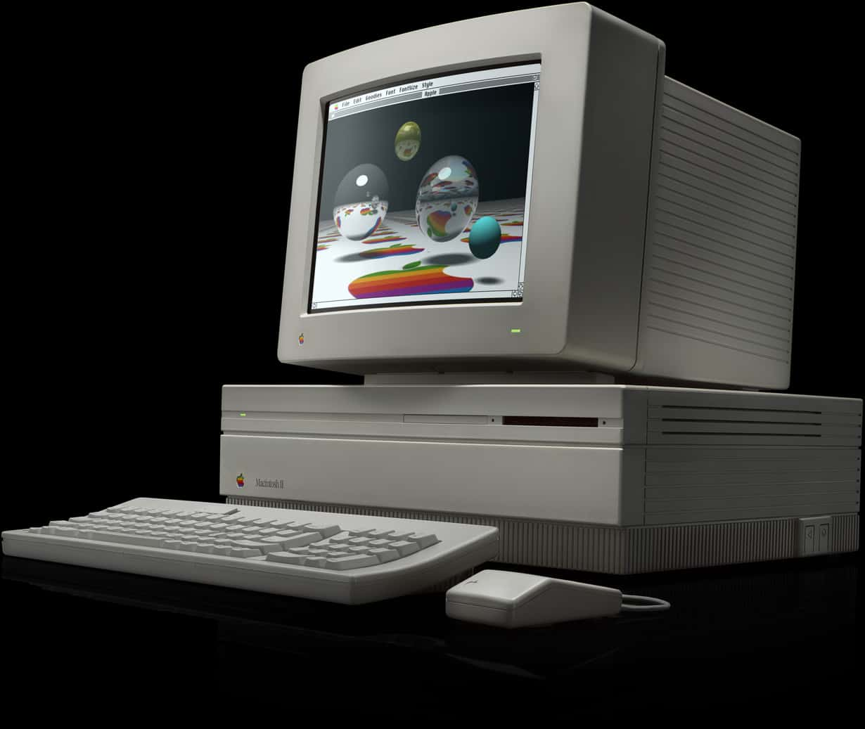 The Mac II was an enormously impressive machine for its day.