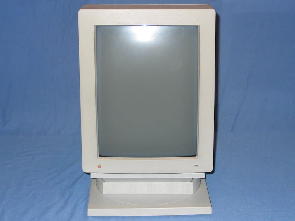 The Macintosh Portrait Display was an early Apple experiment.