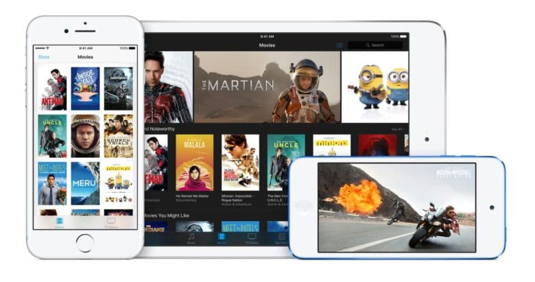 iTunes 12.6 makes it easy to watch rented movies on any device.