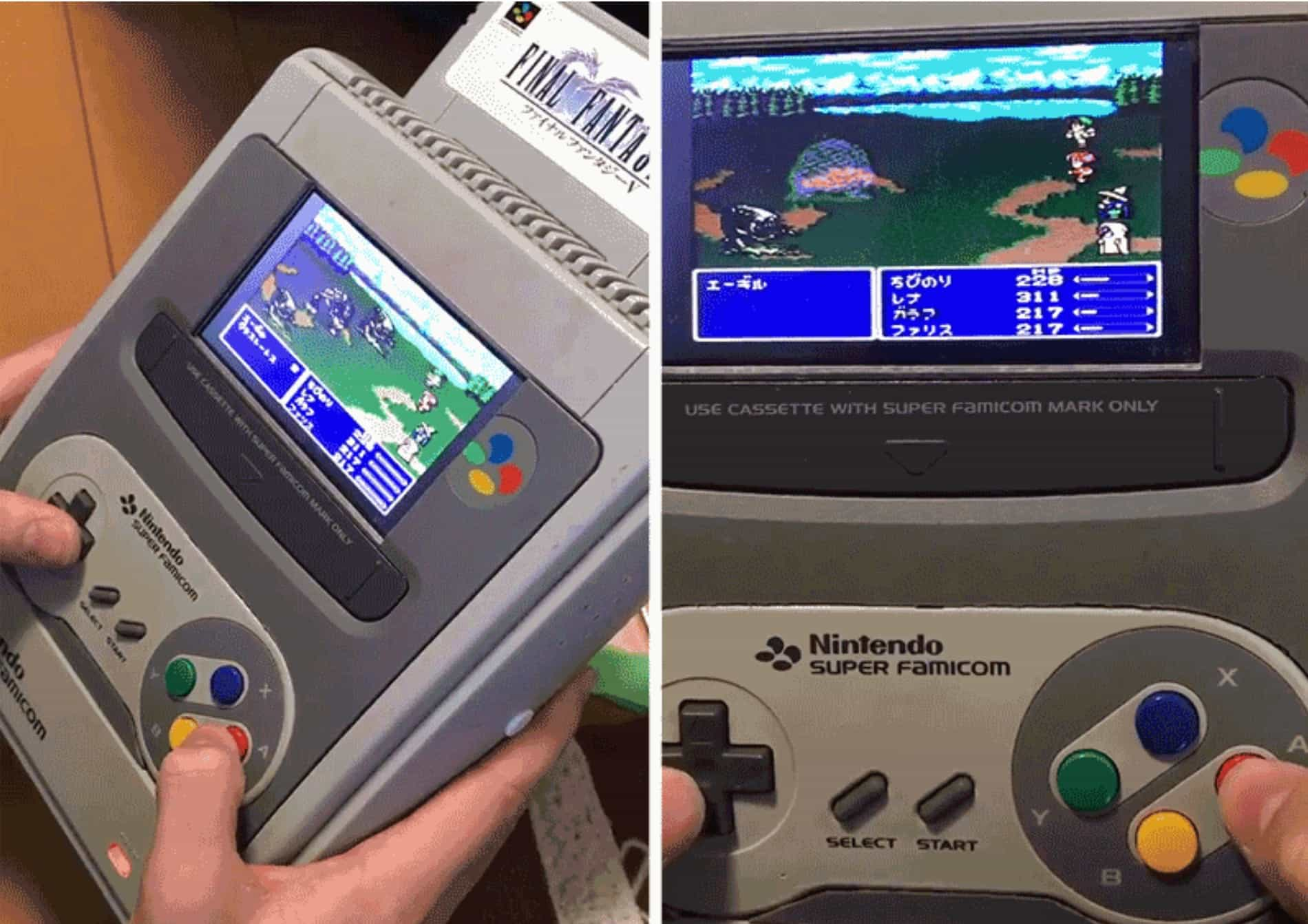 This Portable Snes Is Like A Retro Nintendo Switch Cult