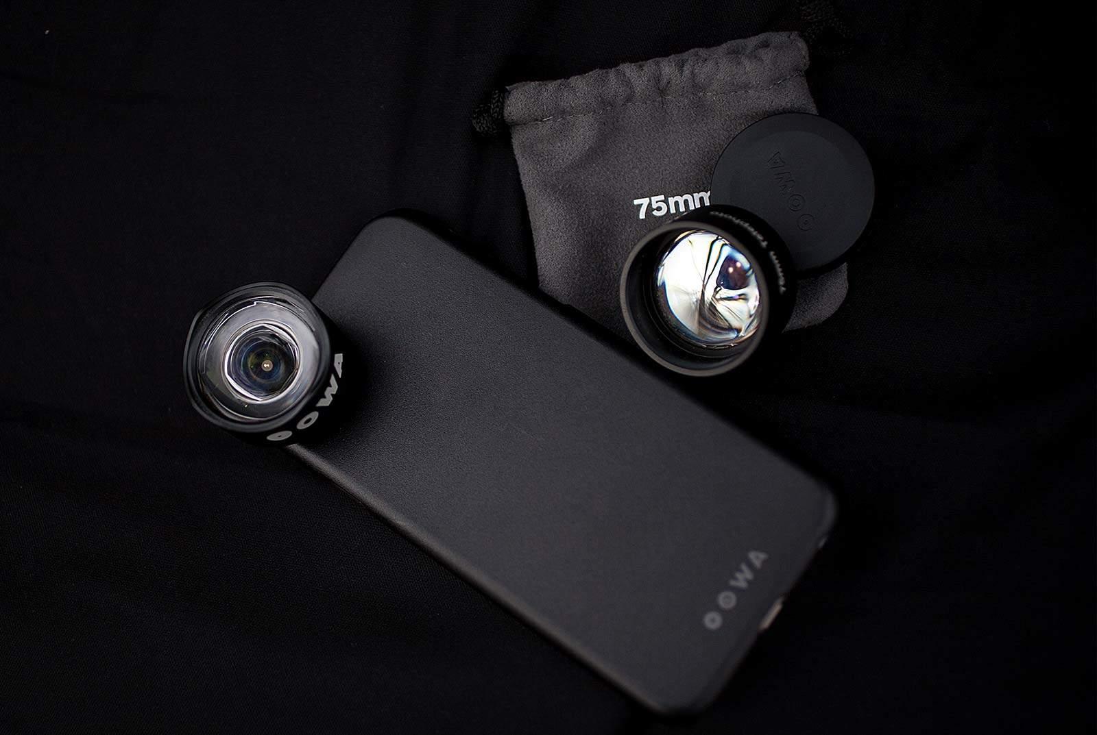 iPhone lenses