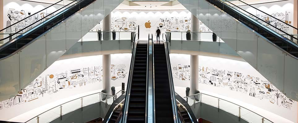 Dubai Mall is getting an Apple Store.