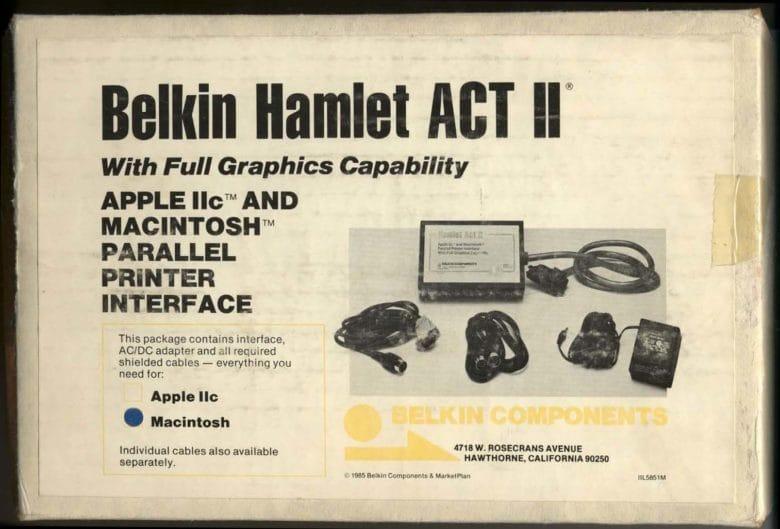 Belkin Old Product Box (Hamlet)