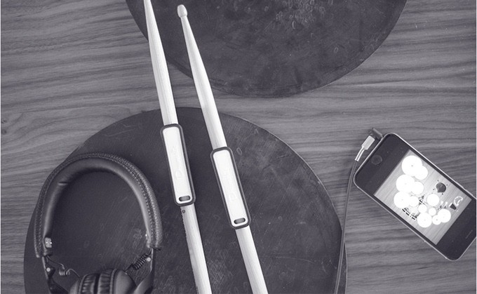 You can finally play drums without the drums.