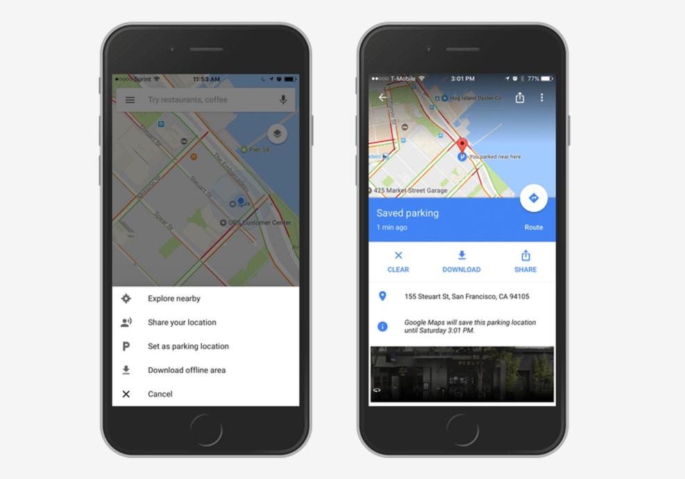 Google Maps iOS