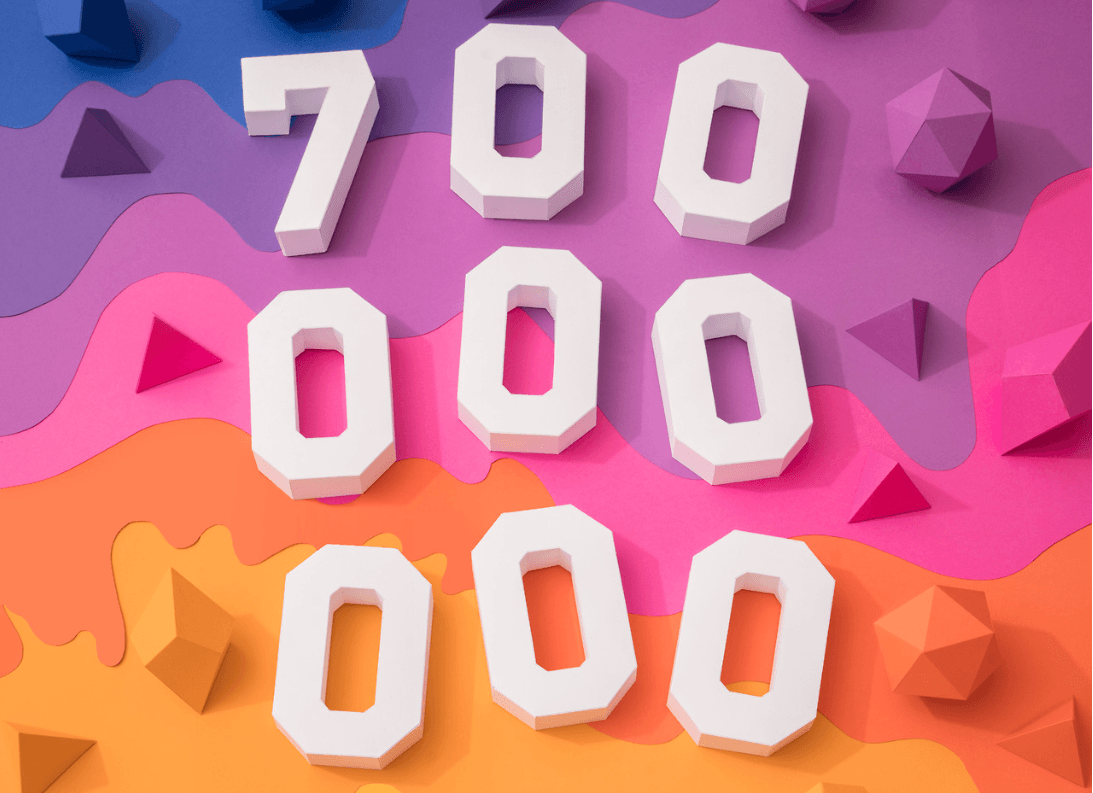 Over 100 million users have joined since December.