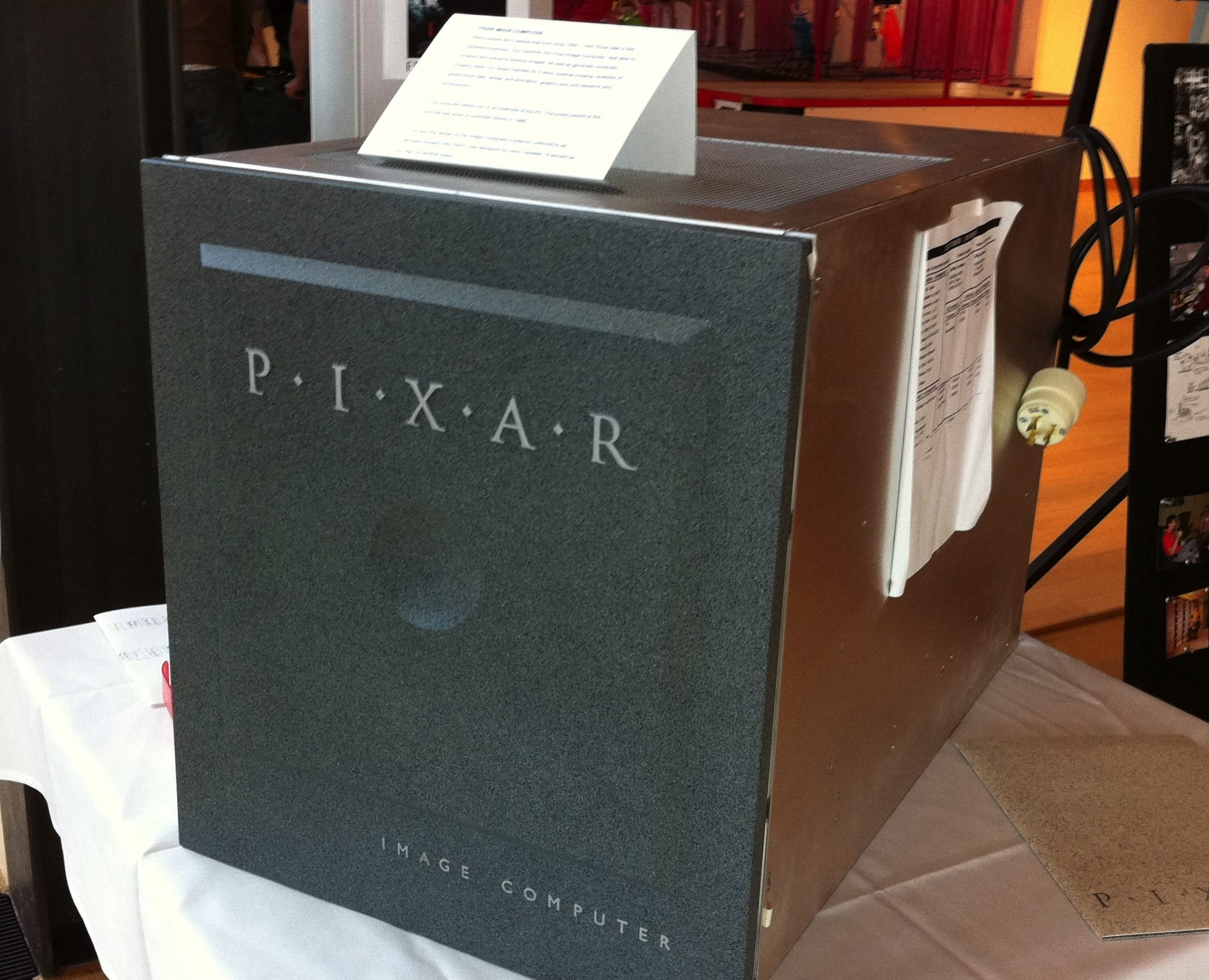 The pricey Pixar Image Computers, including the Pixar P-II, powered the company's early animated works.