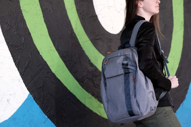 The Kings laptop backpack by STM Goods will shoulder the burdens of the working class.