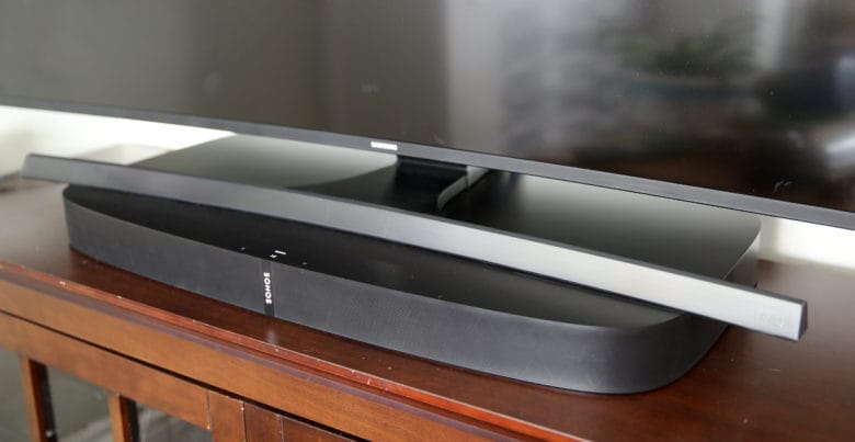 Sonos Playbase review: This Sonos home theater speaker is skinny but