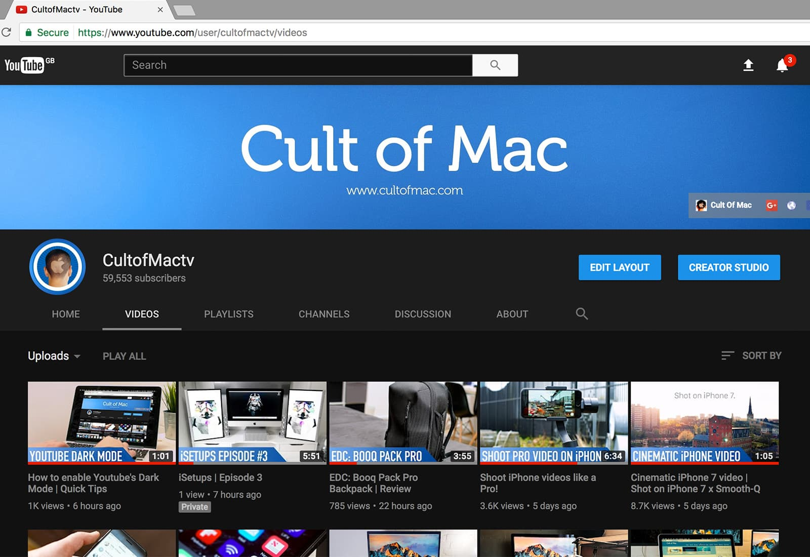 How to enable YouTube's secret dark mode | Cult of Mac