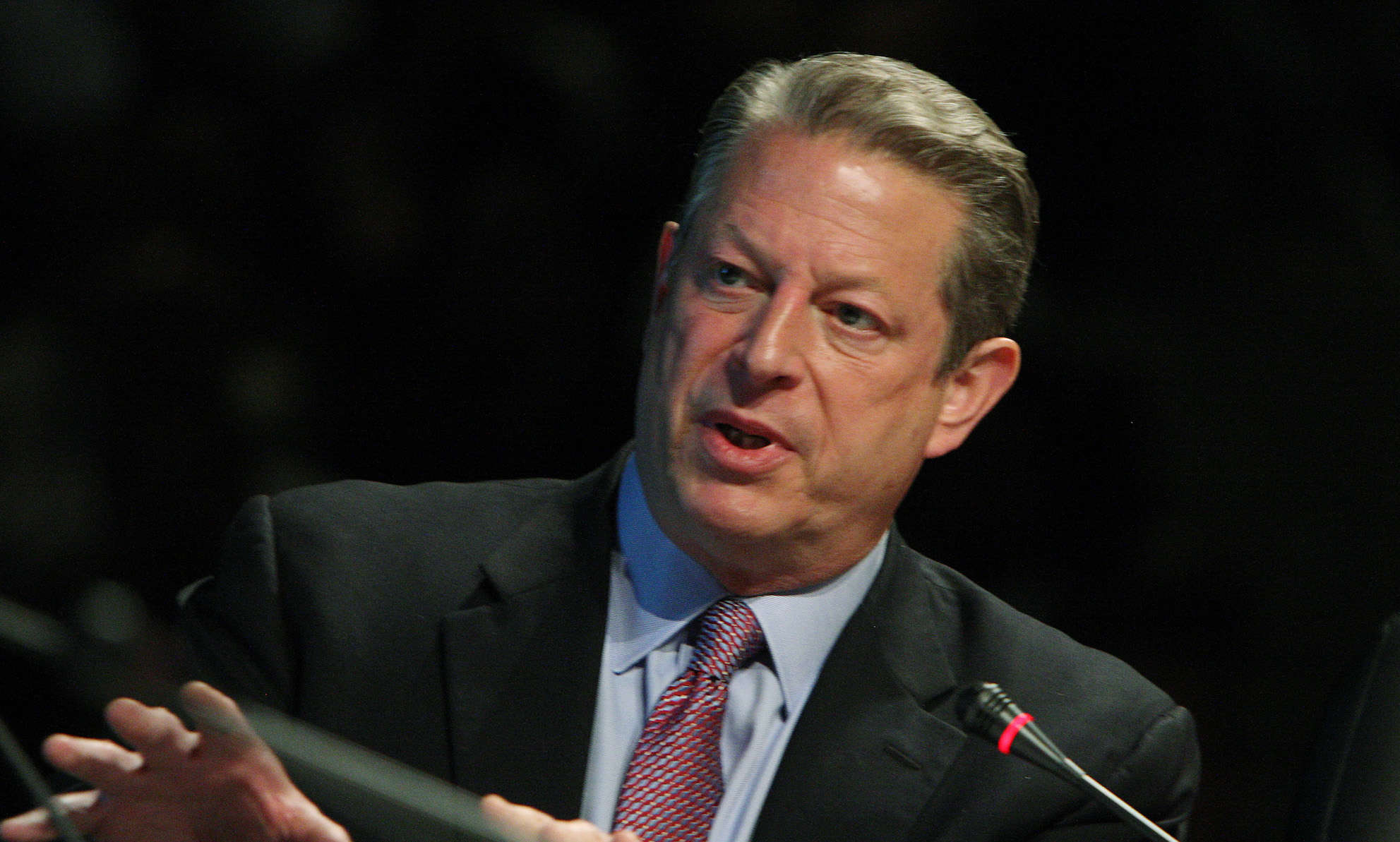 Al Gore at the 2009 National Clean Energy Summit.