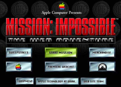 Mission: Impossible The Web Adventure