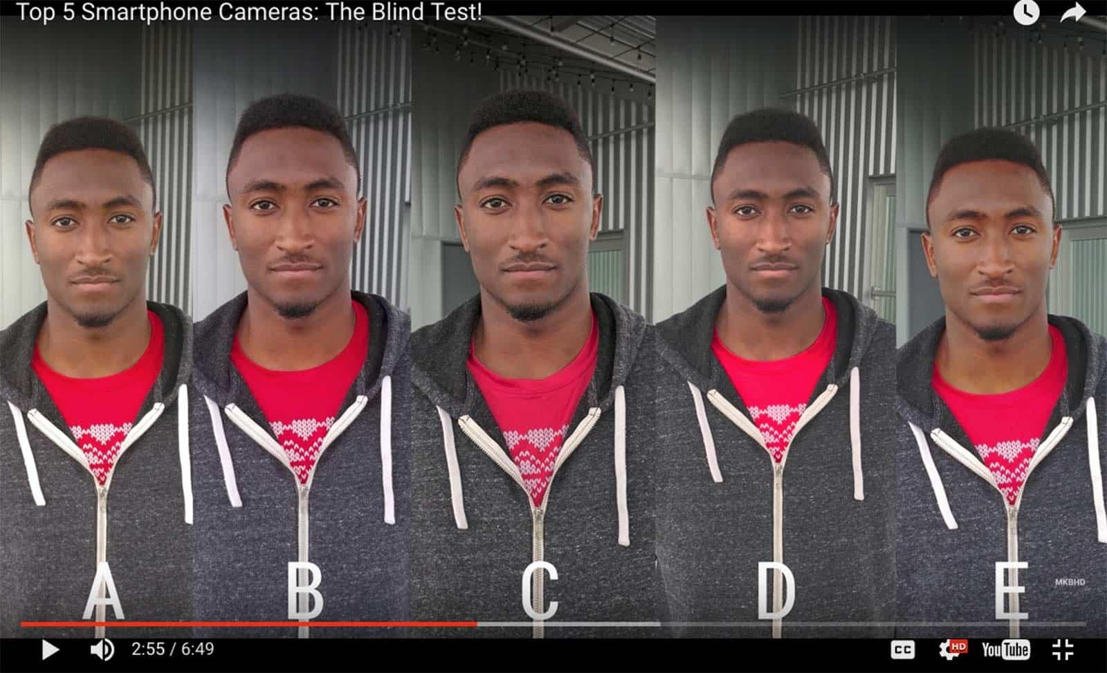 blind camera test