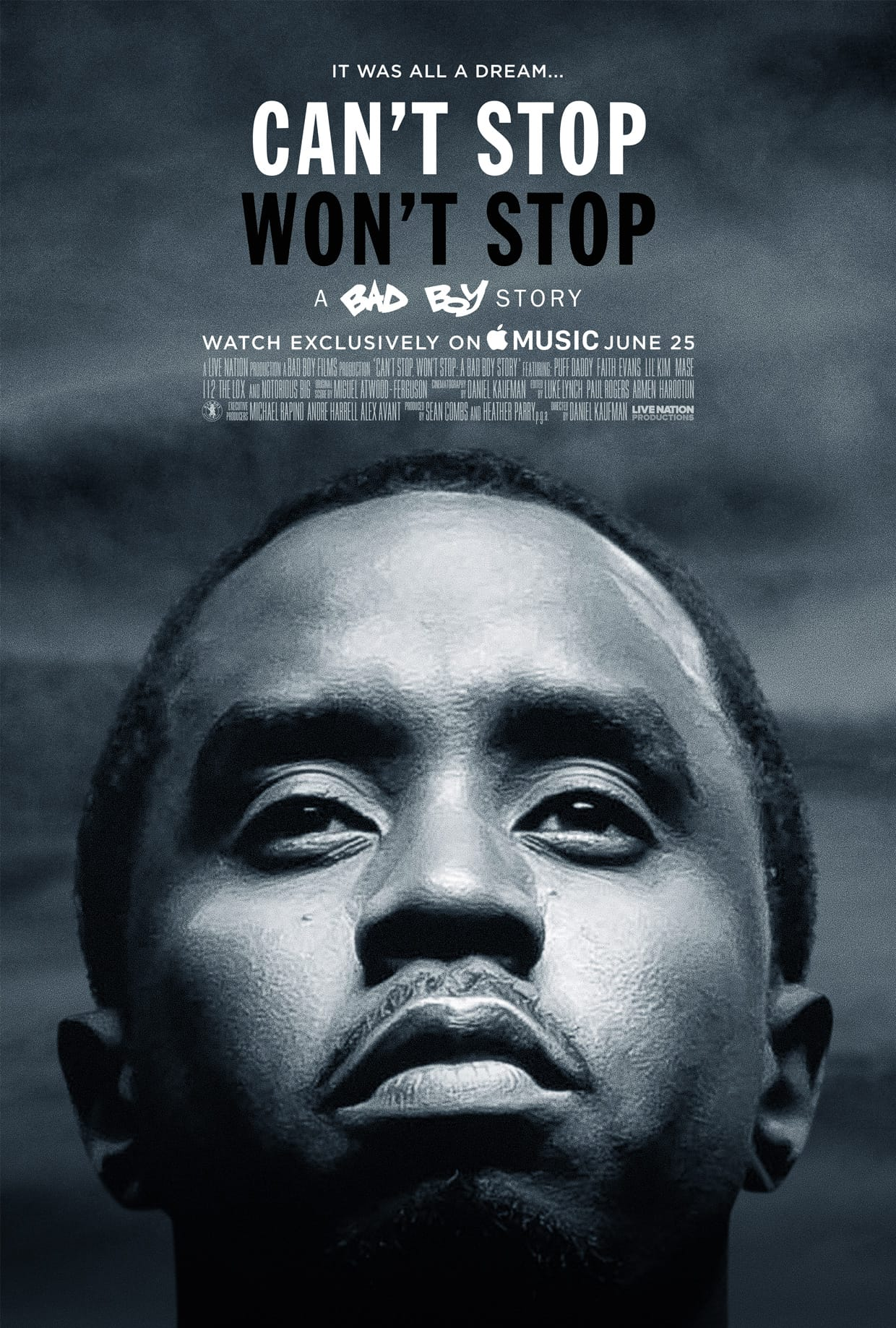 Diddy's movie is coming to Apple Music.