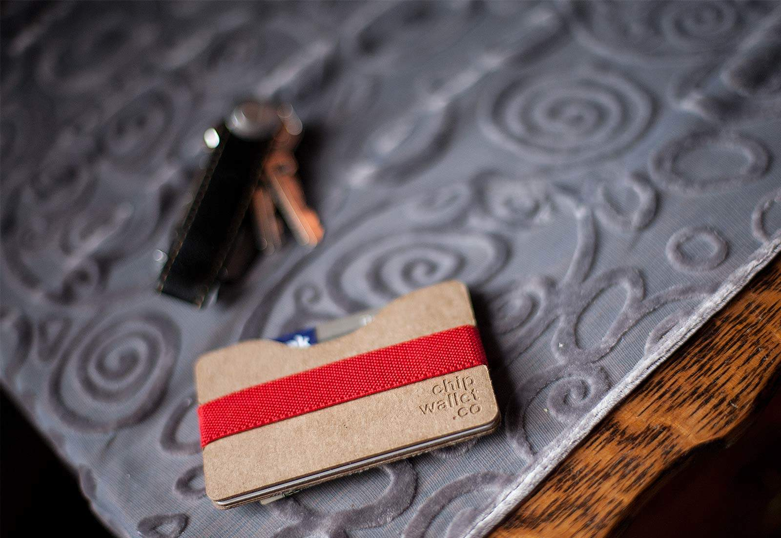 No animals were skinned for the making of this wallet.