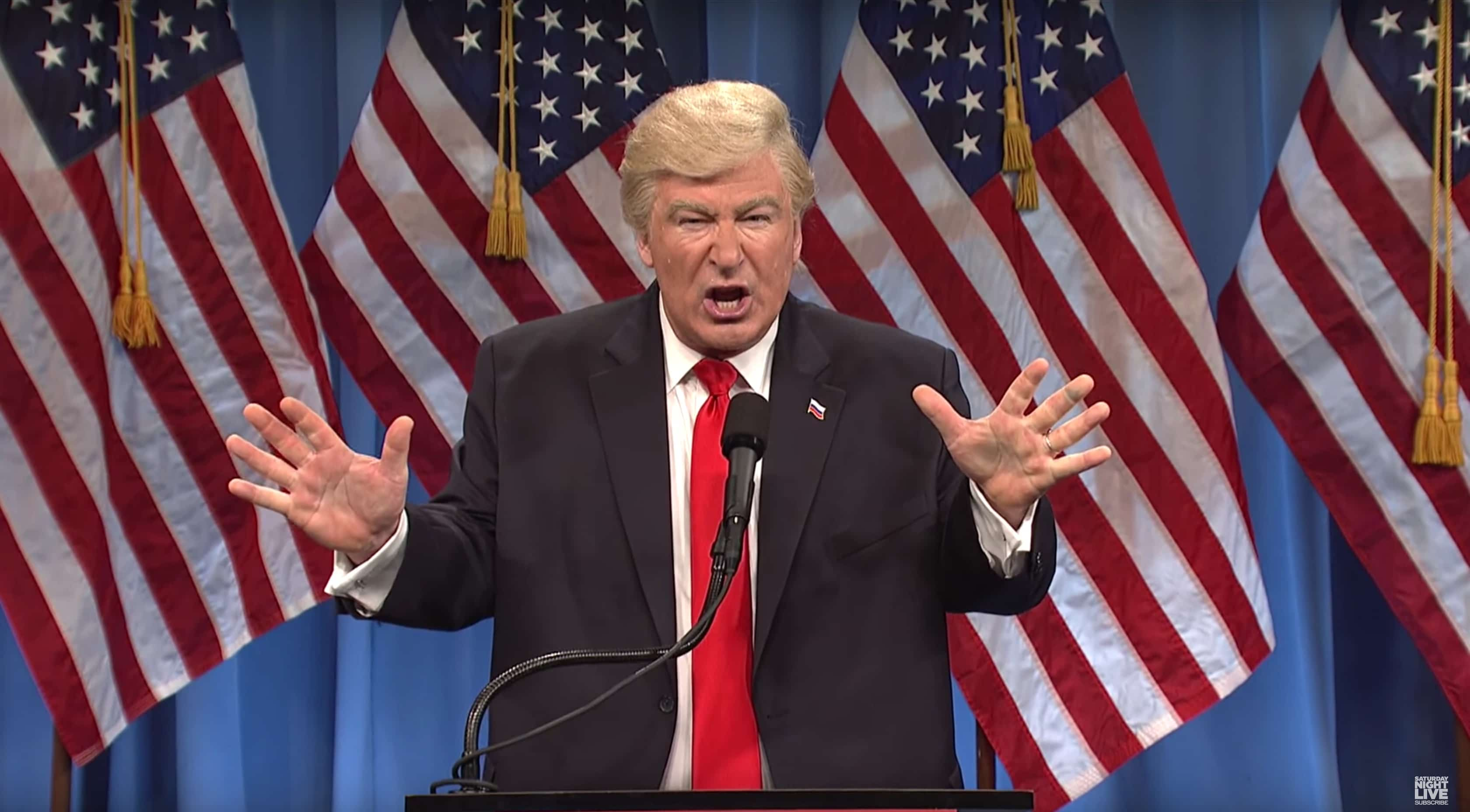 Alec Baldwin has been killing it as President Donald Trump on Saturday Night Live.