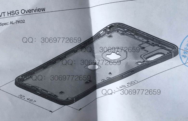 iPhone 5's straight edges could be making a comeback.
