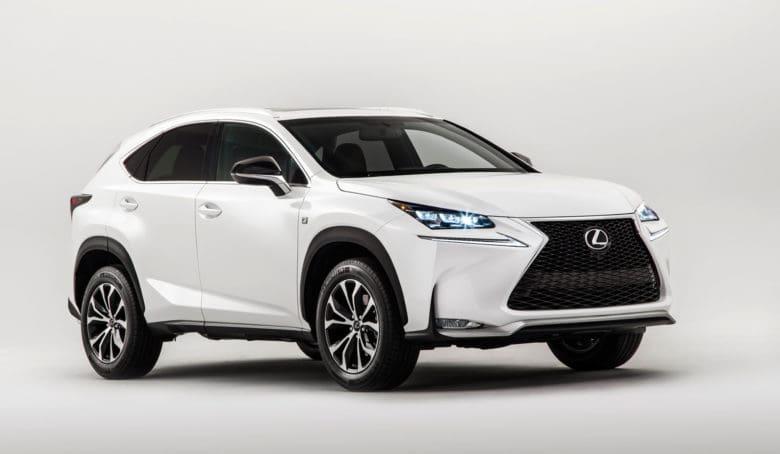 The 2015 Lexus RX450h is Apple's vehicle of choice