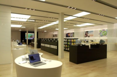 How the first Apple stores appeared in 2001