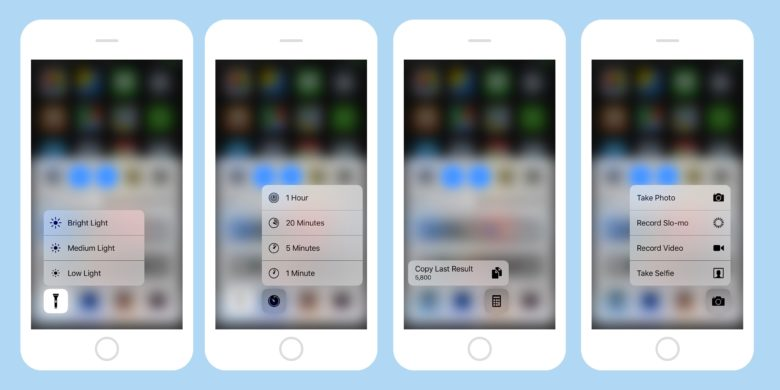 3-d touch control center banner