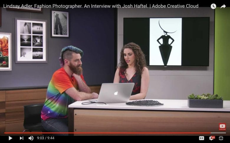 Photographer Lindsay Adler talks about her work with Josh Haftel on an episode of Make It.